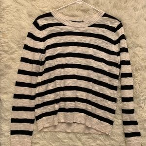 Striped sweater , worn once.